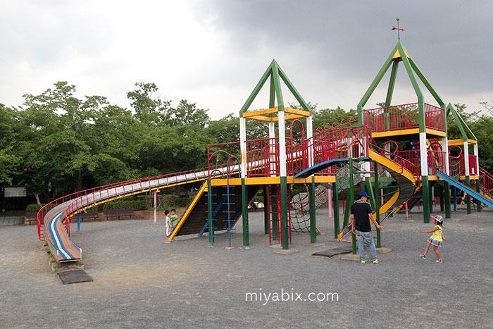 丸山公園,水遊び,子供,上尾,平方,埼玉