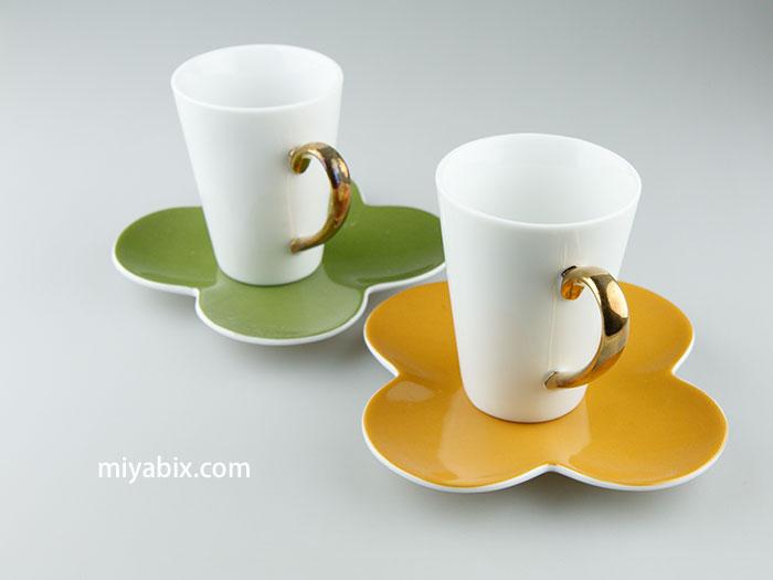 コーヒーカップ,磁器,ソーサー