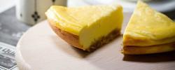 ダッチオーブンでベイクドチーズケーキを作って、彼を落とす