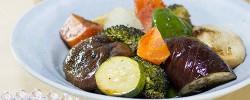 ダッチオーブンで、野菜のグリル