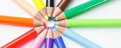 カラフル色鉛筆