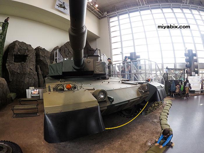 りっくんランド,陸上自衛隊広報センター,朝霞