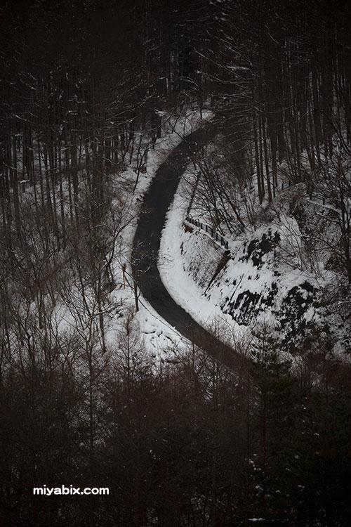 雪,一本道