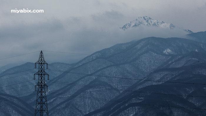 鉄等,雪山