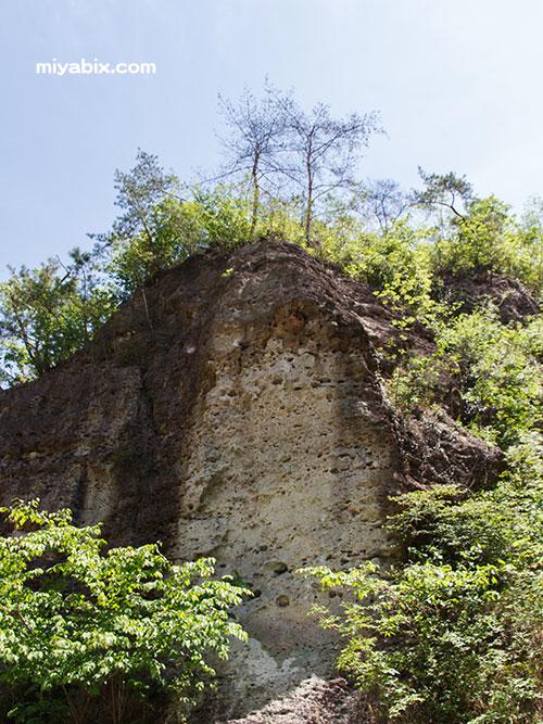 大谷石地下採掘場跡