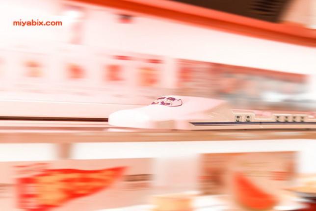 かっぱ寿司,N700,新幹線