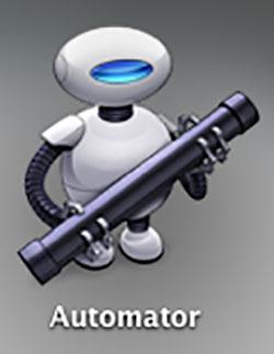 Automator,連番,変換
