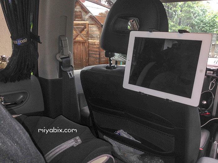 HEADREST,TABLET-KIT,HERBERT,RICHTER,車載後部座席,iPad