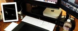 サンワダイレクトの液晶モニター台『100-MR039BK』USBポート&電源タップ付きデスクを整理整頓する