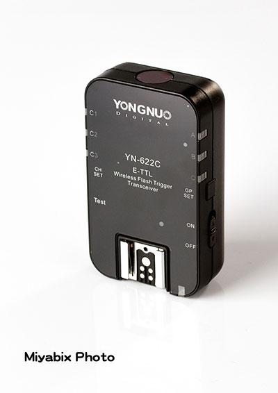 YONGNUO,YN-622C,ラジオ,スレーブ,無線,ストロボ,フラッシュ