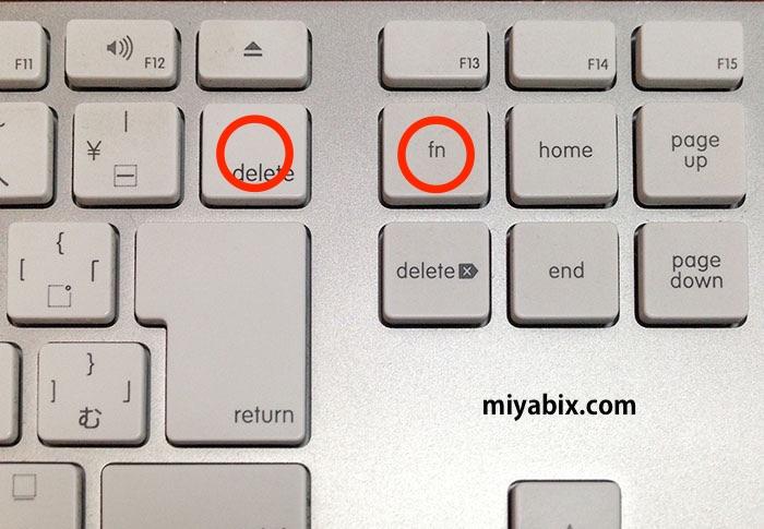 Mac,キーボード