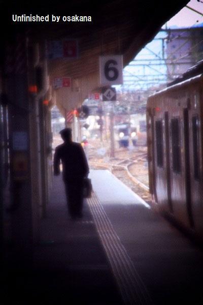 駅長,車掌,鉄道,駅