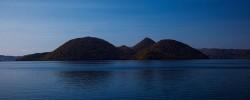 静寂の洞爺湖