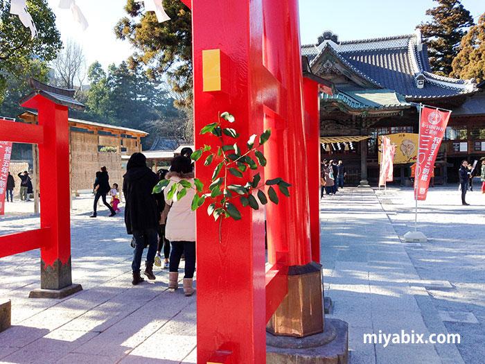 東松山,箭弓稲荷,神社,初詣,おみくじ