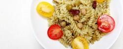 ショートパスタでワシャワシャ食べる『ジェノベーゼ』3分飯