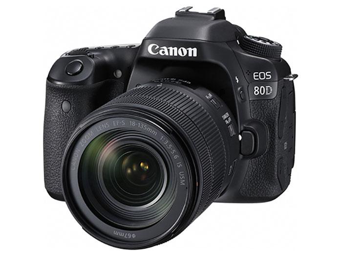 キャノン一眼レフカメラEOS80Dの本体