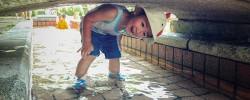 『三橋総合公園』と『上尾丸山公園』で水遊びをする人