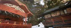 雪の榛名神社(2014)