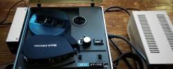 『AKAI VT-110』古い映写機型のオープンリールVTRが再生出来ず『レトロエンタープライズ』へ出した話