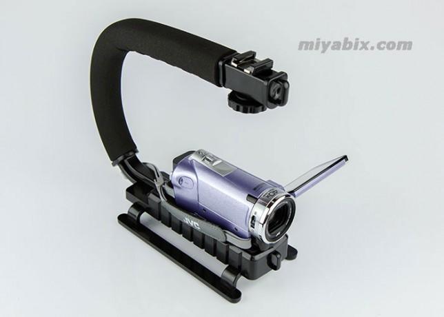 Opteka,X-GRIP,カメラスタビライザー,ハンドルグリップ,ivis,miniX,80D