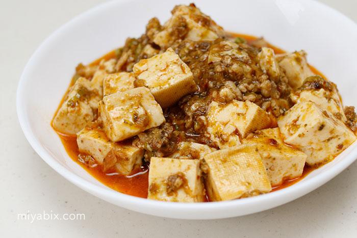 麻婆豆腐,マーボー,四川,豆板醤