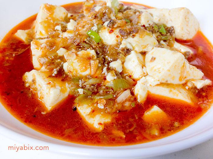 麻婆豆腐,花山椒