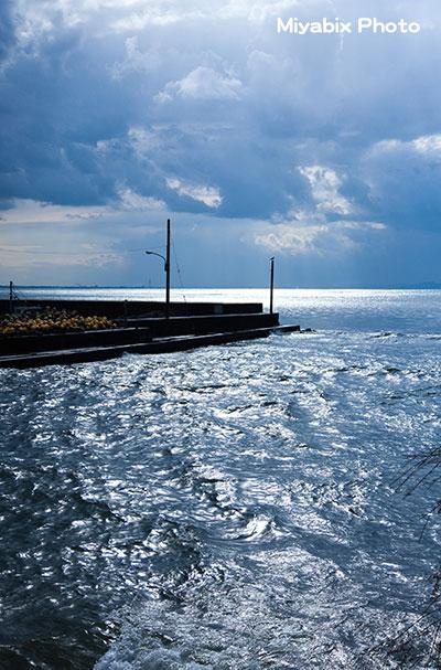 海,防波堤