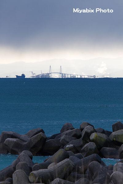 テトラポット,海,橋