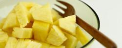 辛い咳を止めるパイナップル効果