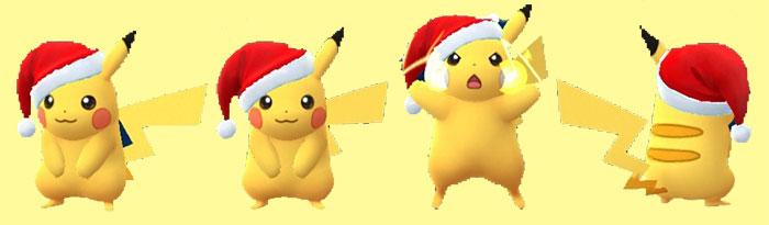 クリスマス,ピカチュウ