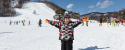 草津国際スキー場で雪遊び(2017)