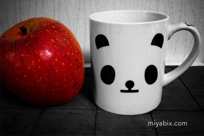 りんごパンダ