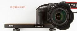 SLIK:カメラ2台搭載用『雲台アクセサリープレート』が便利