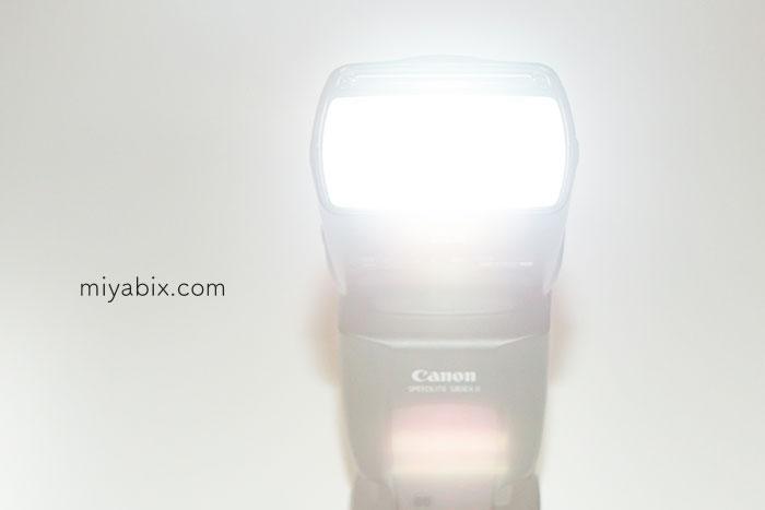 スピードライト,580EXⅡ,TTL発光