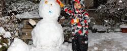 関東でも大雪:雪遊びの記録(2018)